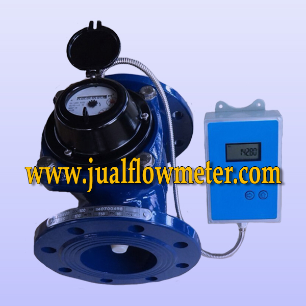 Electronic Water Meter Data Log : Water meter shm analog data logger jualflometer