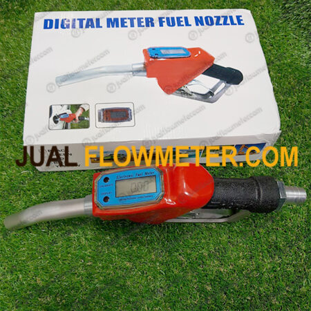 Nozzle With Digital Flow Meter
